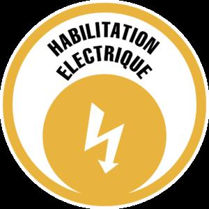 Logo habilitation electrique CAP Formation Conseil